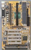 12801---Mainboard ATX met PII-233 processor en cooler