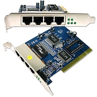 23012---4 port PCI router card