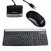 22015 --- Medion Cordless Desktop SK-7225 zwart-zilver